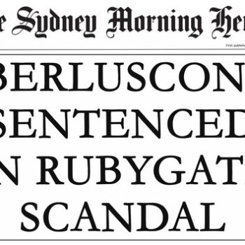 Berlusconi Headline