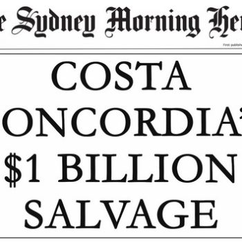 Costa Concordia Headline