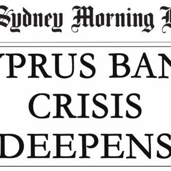 Cyprus Bailout Headline