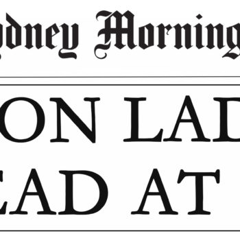 Iron Lady Headline