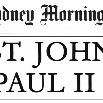 Pope John Paul Headline