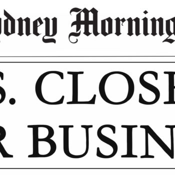US Shutdown Headline